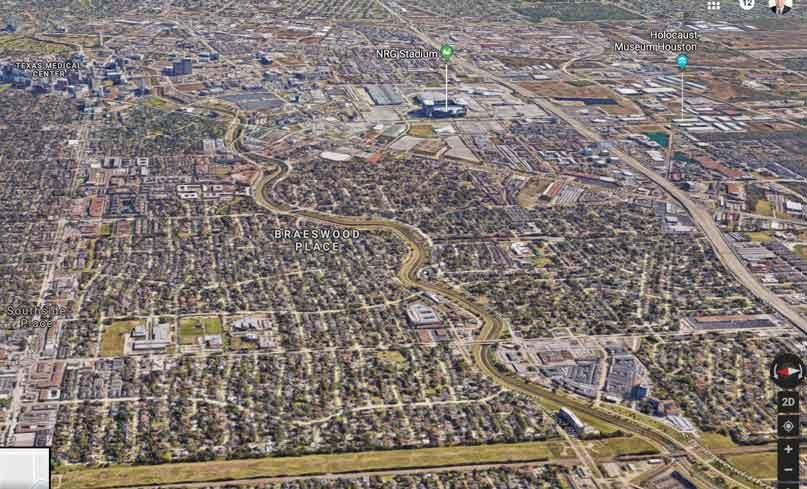 Houston—Google-Maps-3D-view – Costa Rica FIRE