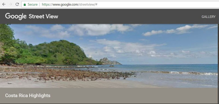 Discovering The Costa Rica Collection in Google Maps Street